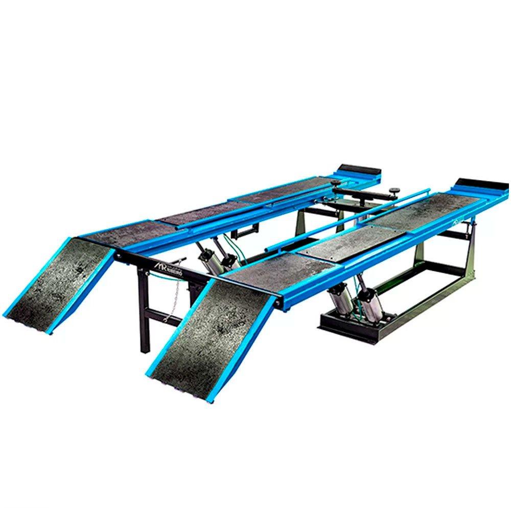 Rampa de Alinhamento Pneumática Azul 4 Toneladas - Imagem zoom