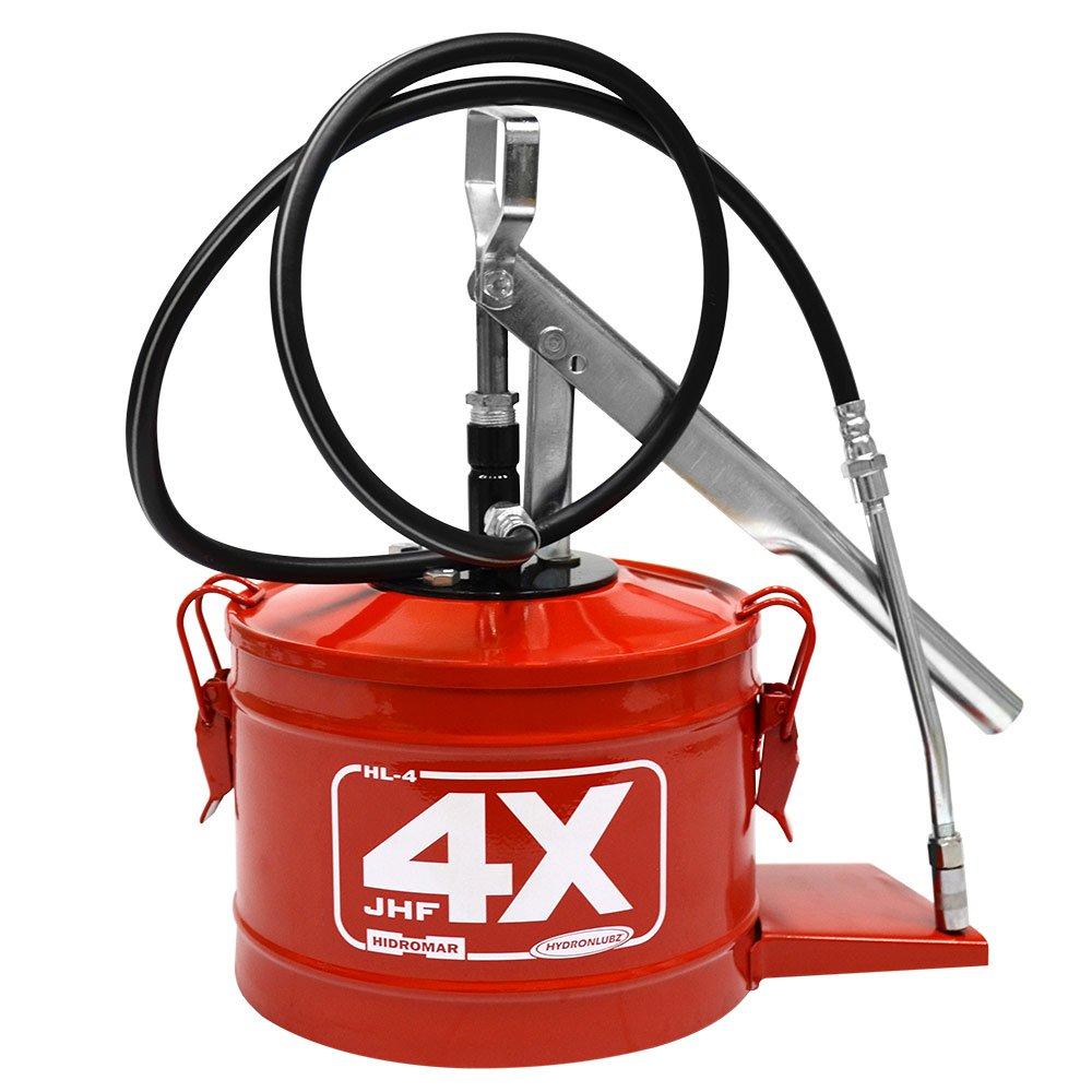 Bomba Manual para Graxa 4kg Vermelho HL-4 - Imagem zoom