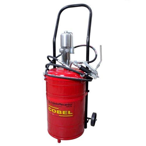 propulsora pneumática portátil com balde de 35kg