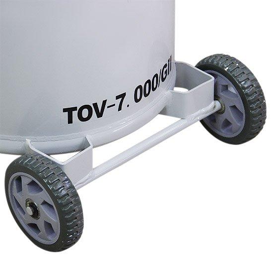 Equipamento de Troca de Óleo à Vácuo ou por Gravidade TOV-7000 GII - Imagem zoom