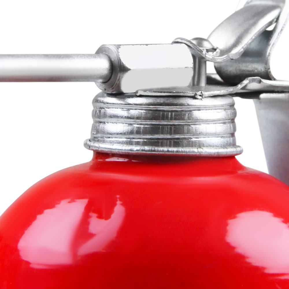 Almotolia Vermelha com Bico Rígido 500ml - Imagem zoom