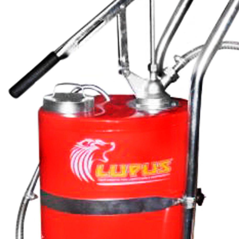 Bomba Manual para Óleo Lubrificante 18 Litros com Carrinho - Imagem zoom