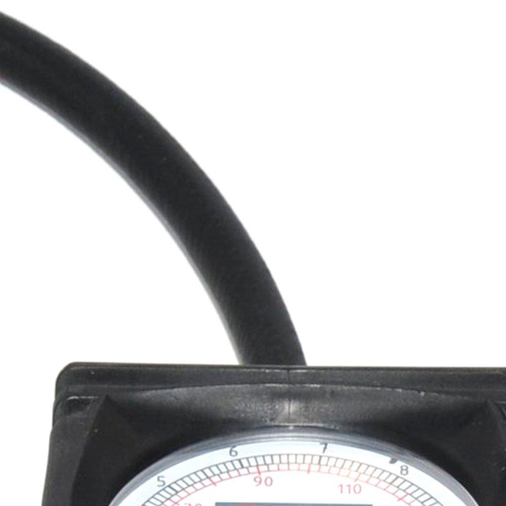 48c46d8e681 Manômetro Calibrador e Inflador Tipo Relógio Mast-Air 10 a 170PSI - Imagem  zoom