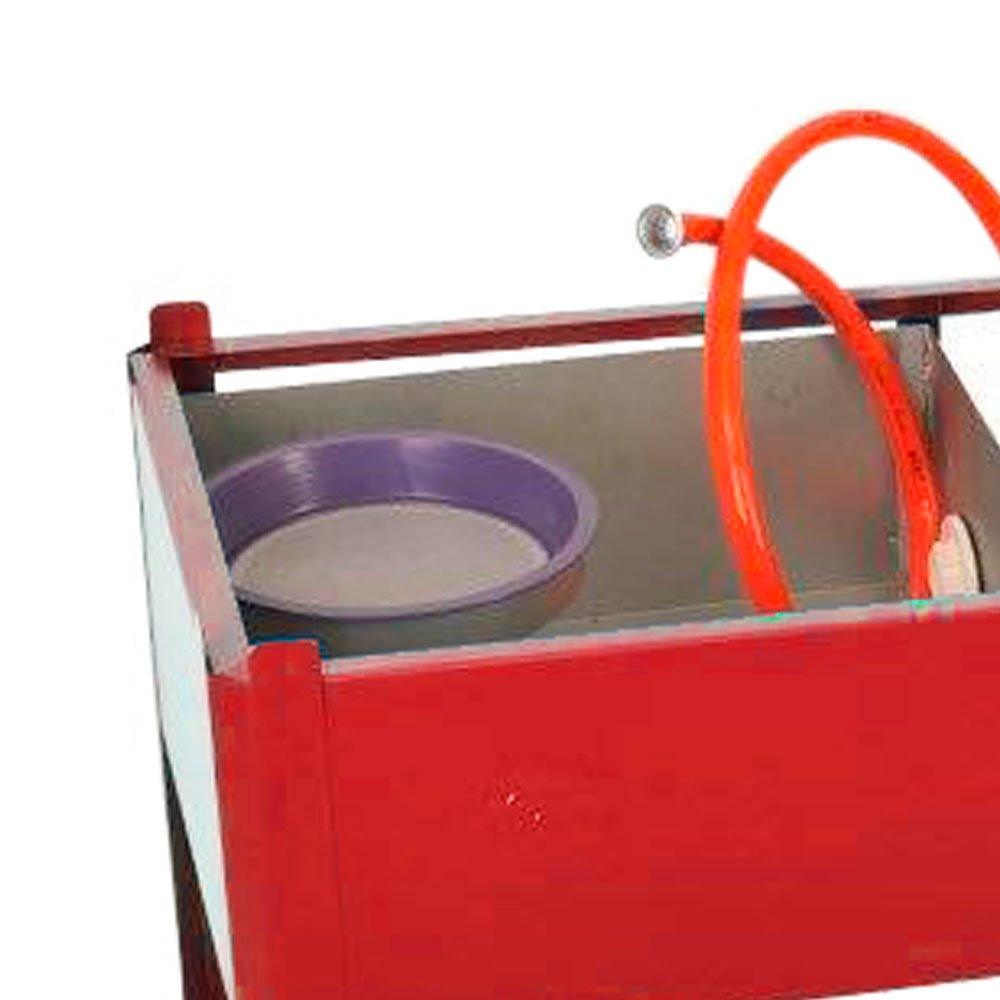Lavadora de Peças Vermelha 800mm 20 Litros  - Imagem zoom