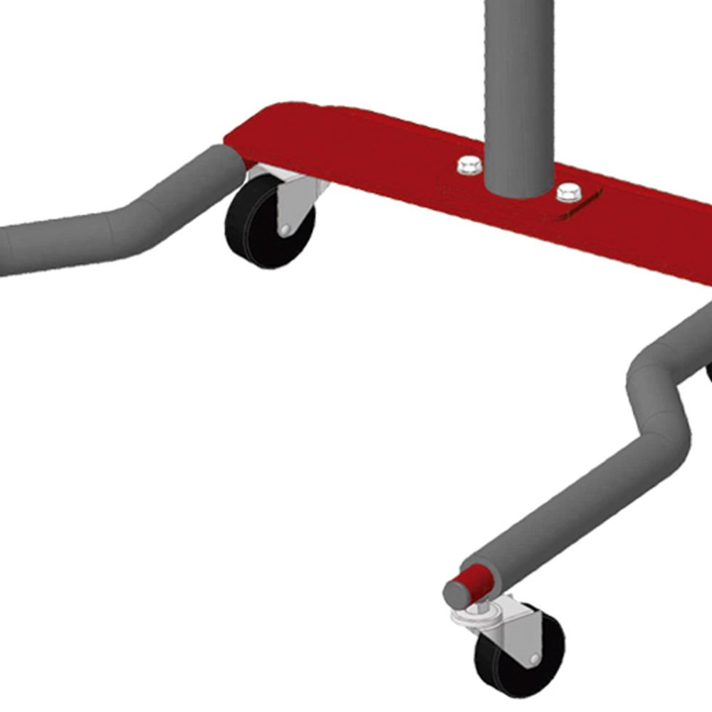 Bancada Móvel com 4 rodas para Equipamentos Eletrônicos - Imagem zoom