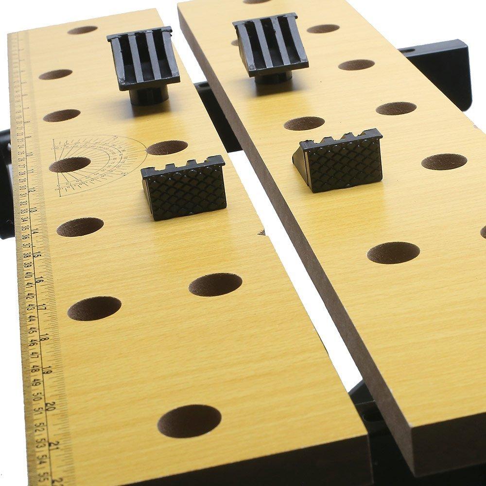 Kit Bancada de Trabalho Dobrável FortG Pro FG9040 + 2 x Grampo de 24 Pol. e 2 x Grampo de 6 Pol. - Imagem zoom