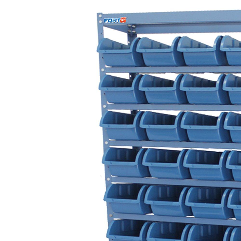Estante Compacta com 54 Caixas Nr. 5 Azul - Imagem zoom