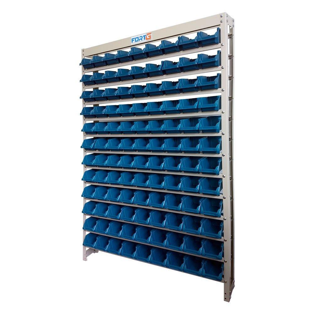 Estante Gaveteiro Organizador com 108 Gavetas Nr. 3 Azul - Imagem zoom