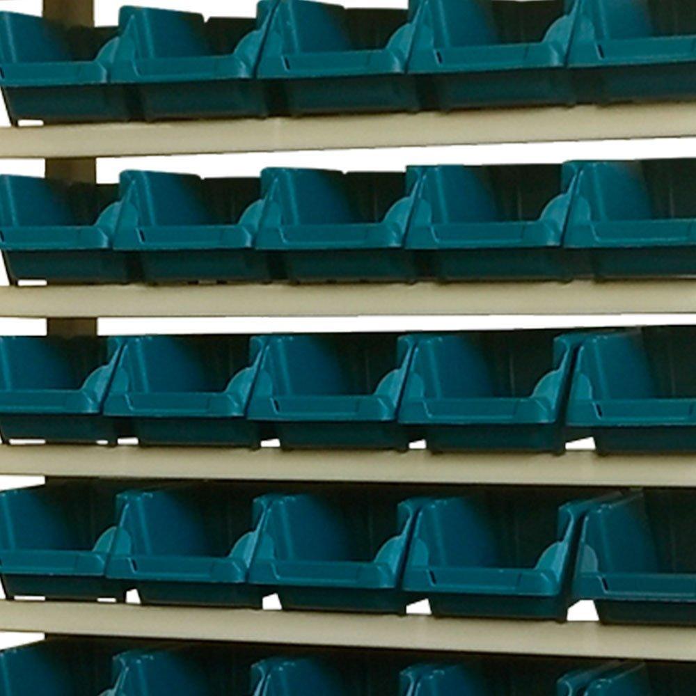 Estante Gaveteiro Organizador com 60 Gavetas Número 3 Cor Azul - Imagem zoom