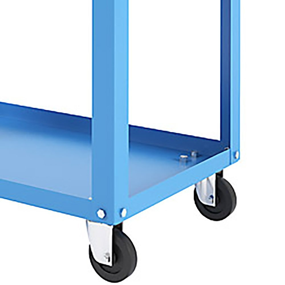 Carro Aberto para Ferramentas Azul com Gaveta - Imagem zoom