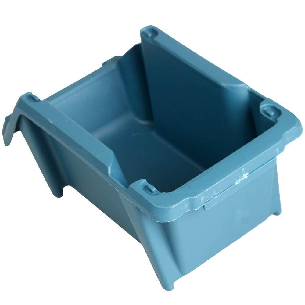 Gaveta Plástica Prática Empilhável Nr. 3 Azul - Imagem zoom