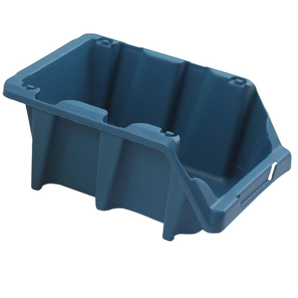 Gaveta Plástica Prática Empilhável Nr. 5 Azul - Imagem zoom