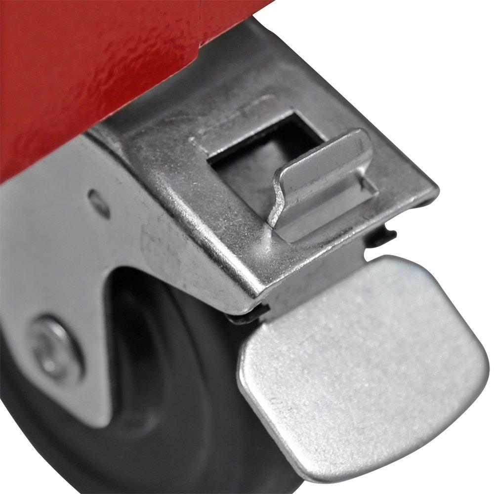 Carrinho Vermelho para Ferramentas com 7 Gavetas  - Imagem zoom