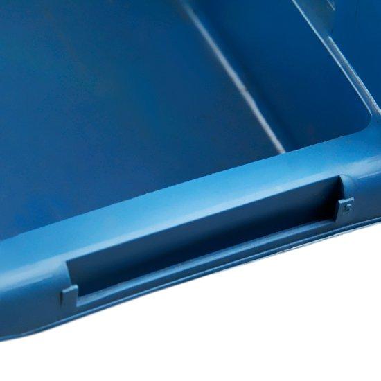 Gaveta Plástica Azul para Componentes Nº 3 - Imagem zoom