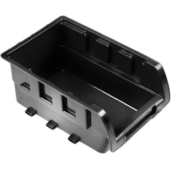 Gaveta Plástica para Componentes Preta N°3 - Imagem zoom