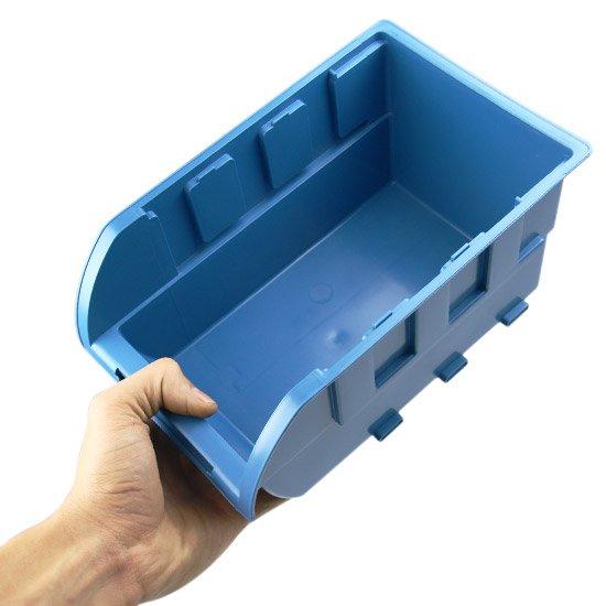Gaveta Plástica Azul para Componentes n°5 - Imagem zoom