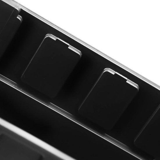 Gaveta Plástica Preto para Componentes N° 5 - Imagem zoom