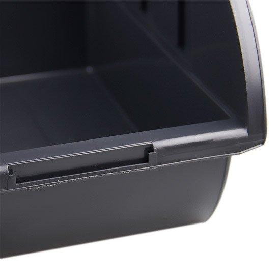 Gaveta Plástica Preta para Componentes Nº7 - Imagem zoom