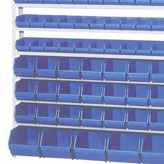 Estante Porta-Componentes com Caixas Azuis com 82 Caixas N° 3/ 5/ 7 - Imagem zoom