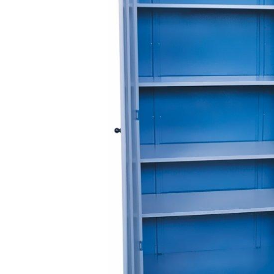 Armário Grande Compacto com 4 Prateleiras Reguláveis - Imagem zoom