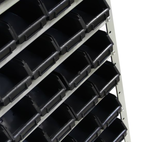 Estante Gaveteiros com 60 Caixas Preta N° 03 - Imagem zoom