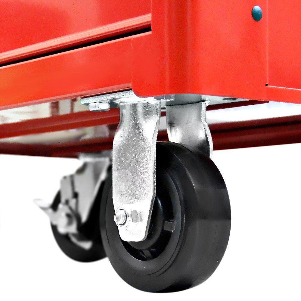 Carro para Ferramentas Vermelho com 7 Gavetas - Imagem zoom