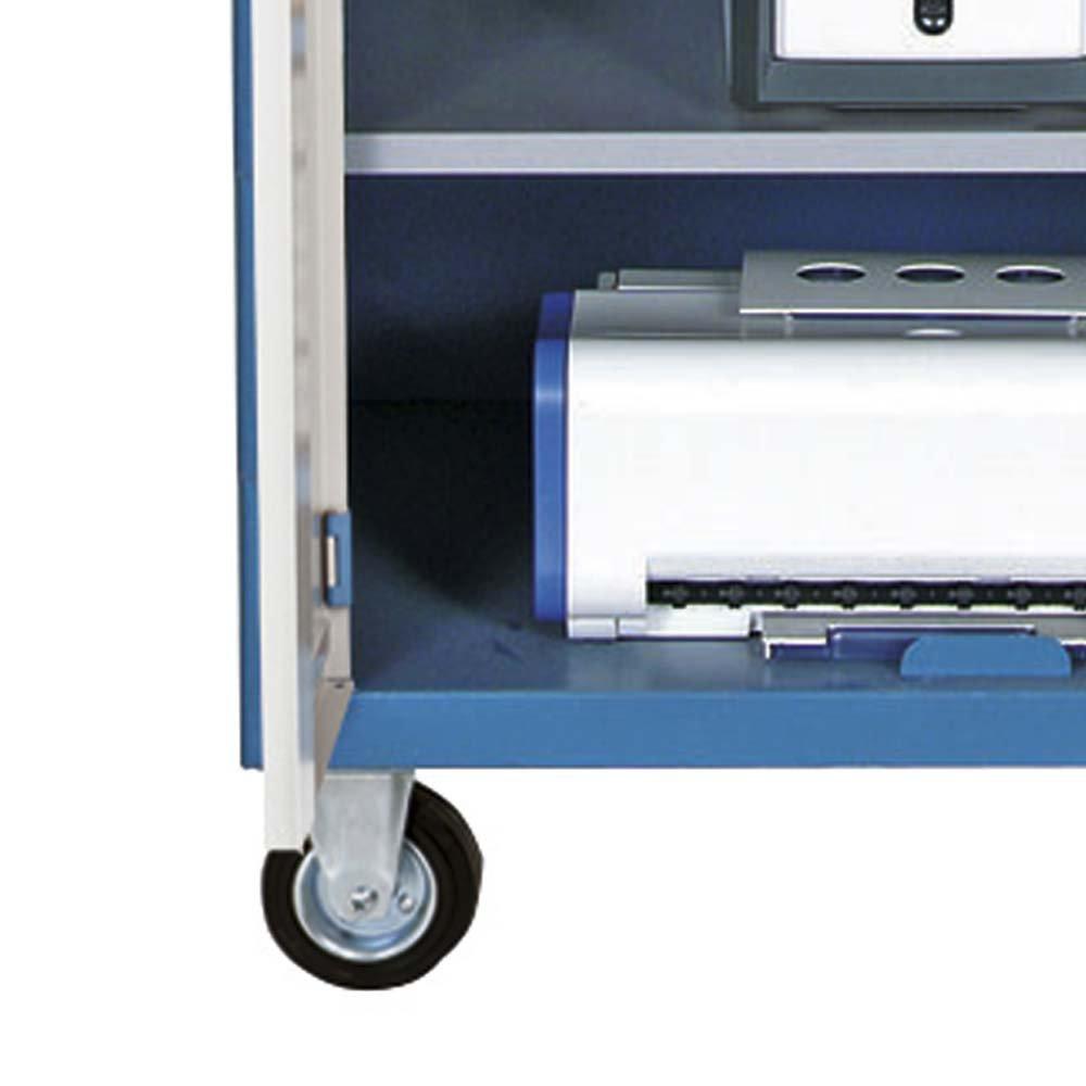 Rack Móvel para Computador com Gaveta Porta Teclado - Imagem zoom