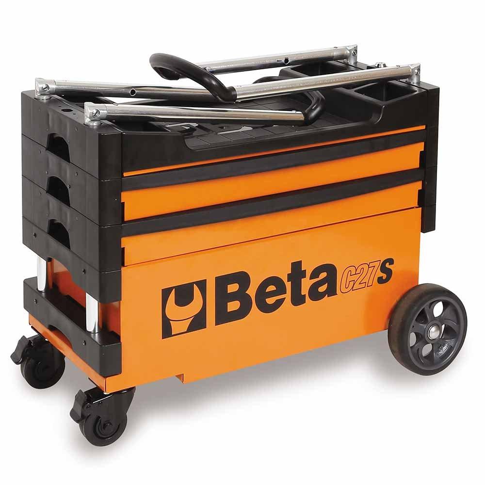Carro de Ferramentas Tipo Trolley Rebatível para Trabalhos ao Ar Livre C27S - Imagem zoom