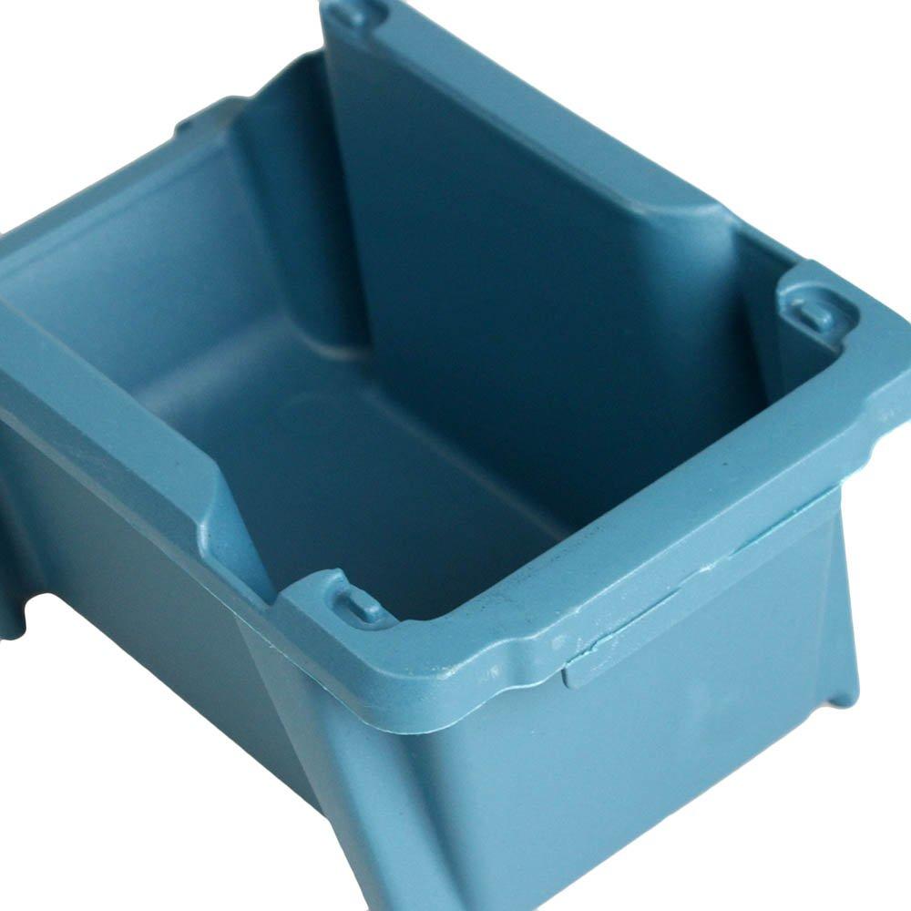 Gaveta Plástica Prática Empilhável Nº 3 Azul - Imagem zoom