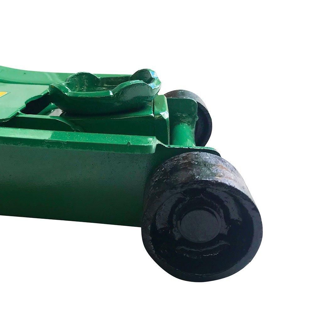 Macaco Hidráulico Curto Tipo Jacaré Rebaixado 2T 1140mm com Rodas de Ferro - Imagem zoom