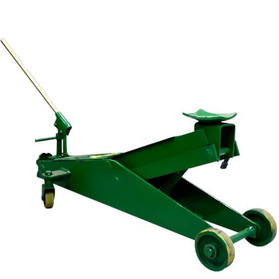 Macaco Hidráulico 2 Toneladas Tipo Jacaré Compacto Roda de PU - Imagem zoom