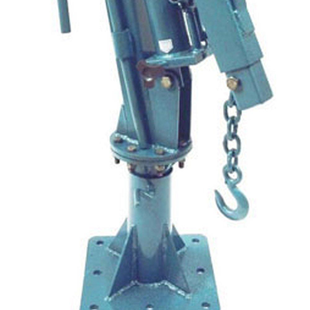 Guincho Hidráulico Giratório de 500Kg com Base Fixa - Imagem zoom