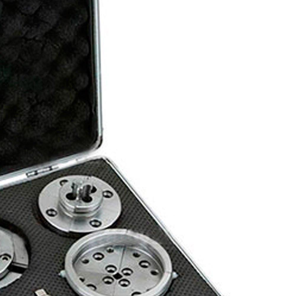 Jogo de Placa 96mm com Castanhas e Mordentes para Tornos de Madeira - Imagem zoom