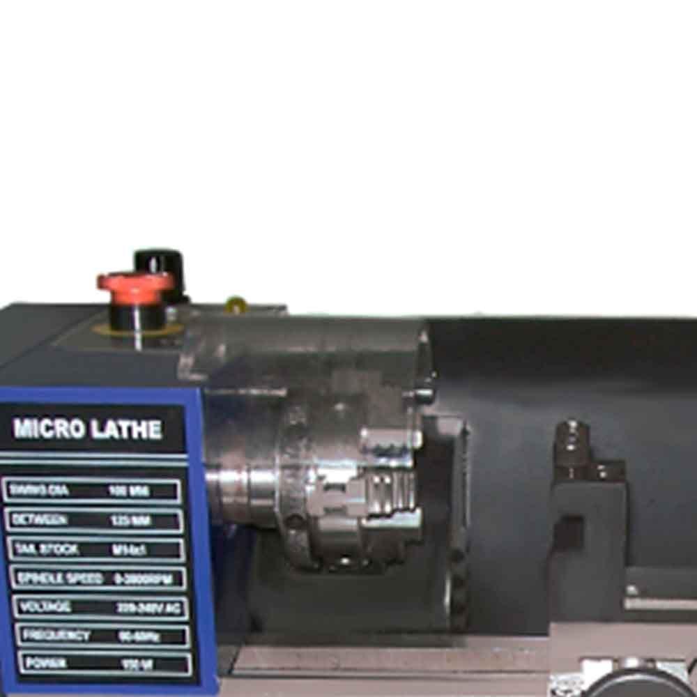 Mini Torno Hobby 125mm - Imagem zoom