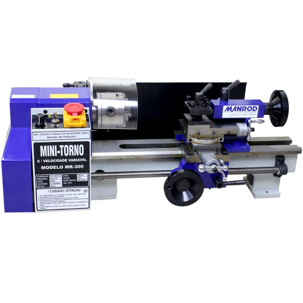 Mini-Torno Profissional 250W Monofásico  - Imagem zoom
