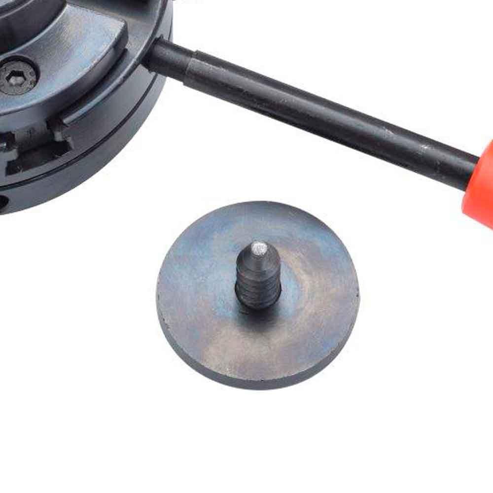 Placa Auto-Centrante de 100mm para Torno - Imagem zoom