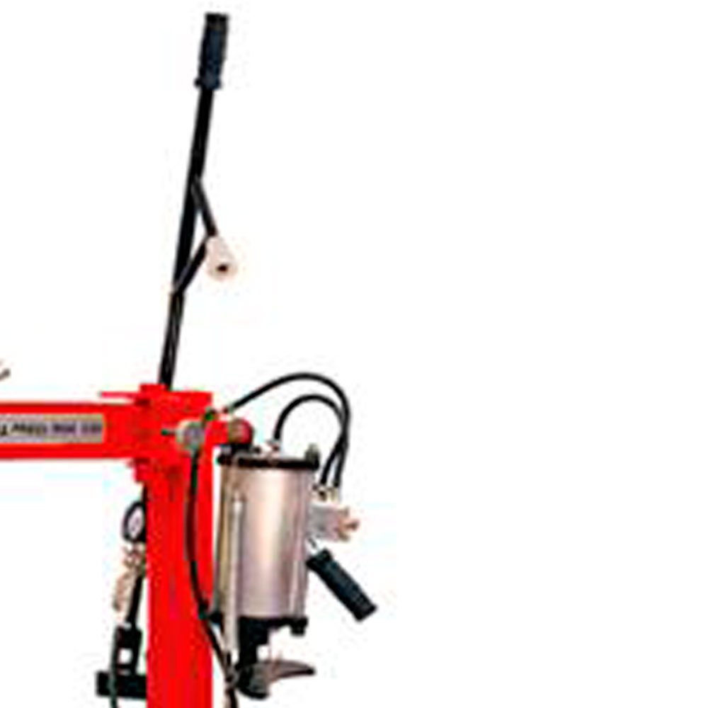 Montadora Elétrica de Pneus Vermelha Monofásica 220V - Imagem zoom