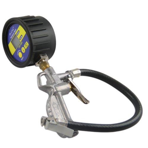 calibrador manual de pneus com manômetro digital