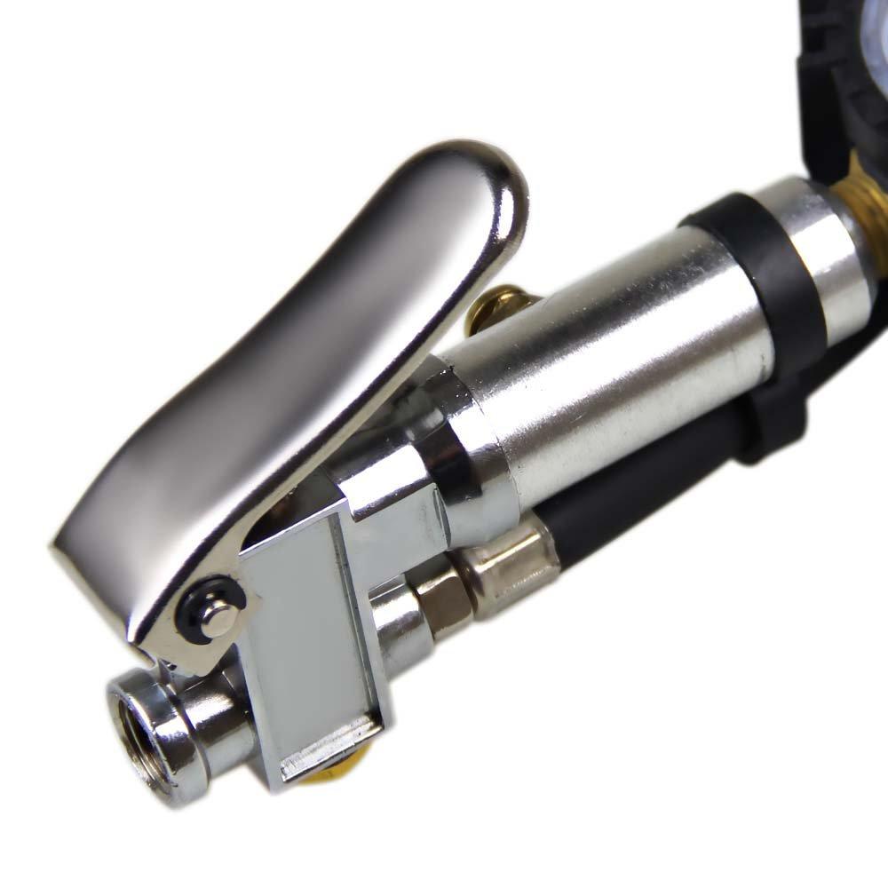 Calibrador de Pneu com Mangueira e Inflador 0 - 220 PSI - Imagem zoom