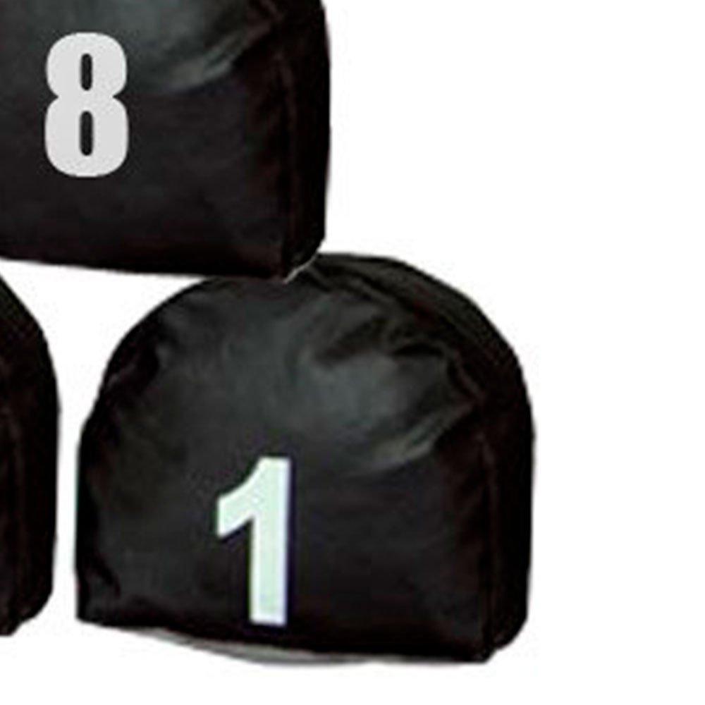 Jogo de Prismas Pretos com Número de 1 a 15 - Imagem zoom