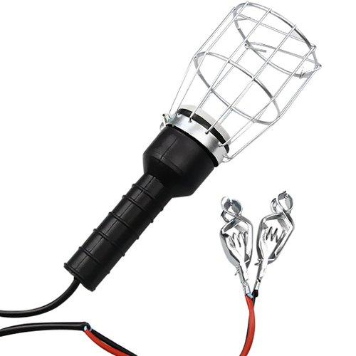 pendente de luz tipo gaiola para bateria 12v sem lâmpada