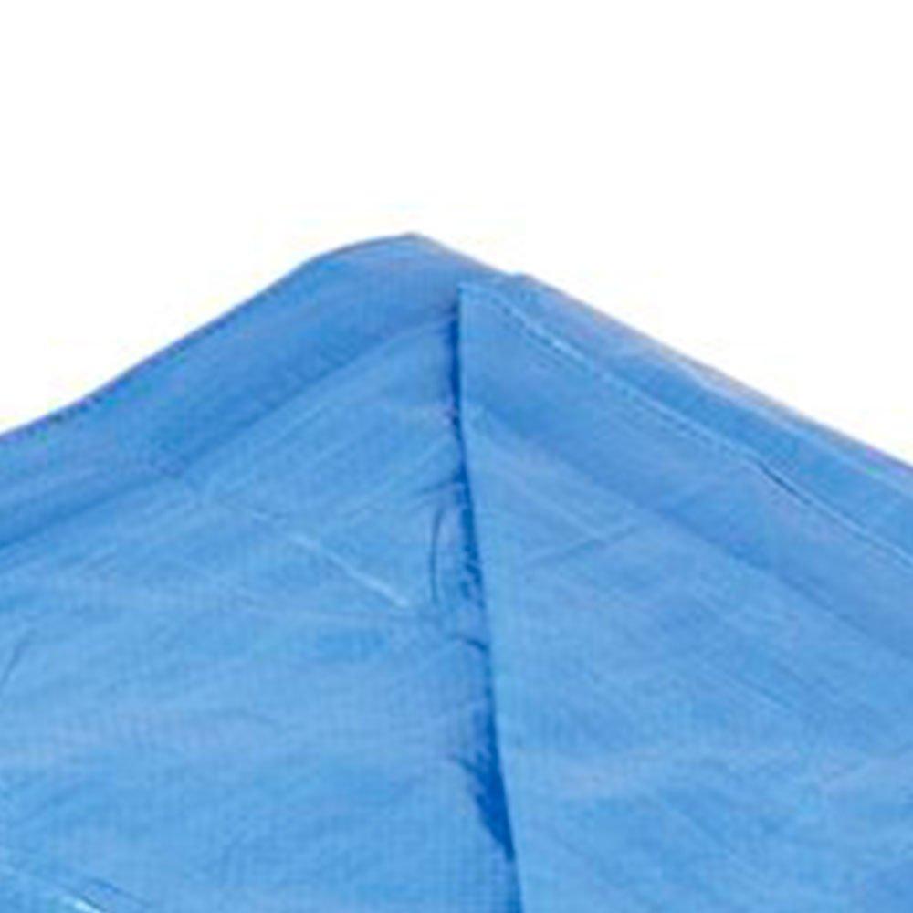 Lona de Polietileno Azul 3 x 2 Metros - Imagem zoom