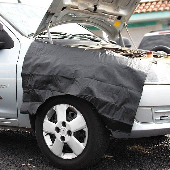 Jogo com 02 Capas para Proteção Lateral do Carro - Imagem zoom