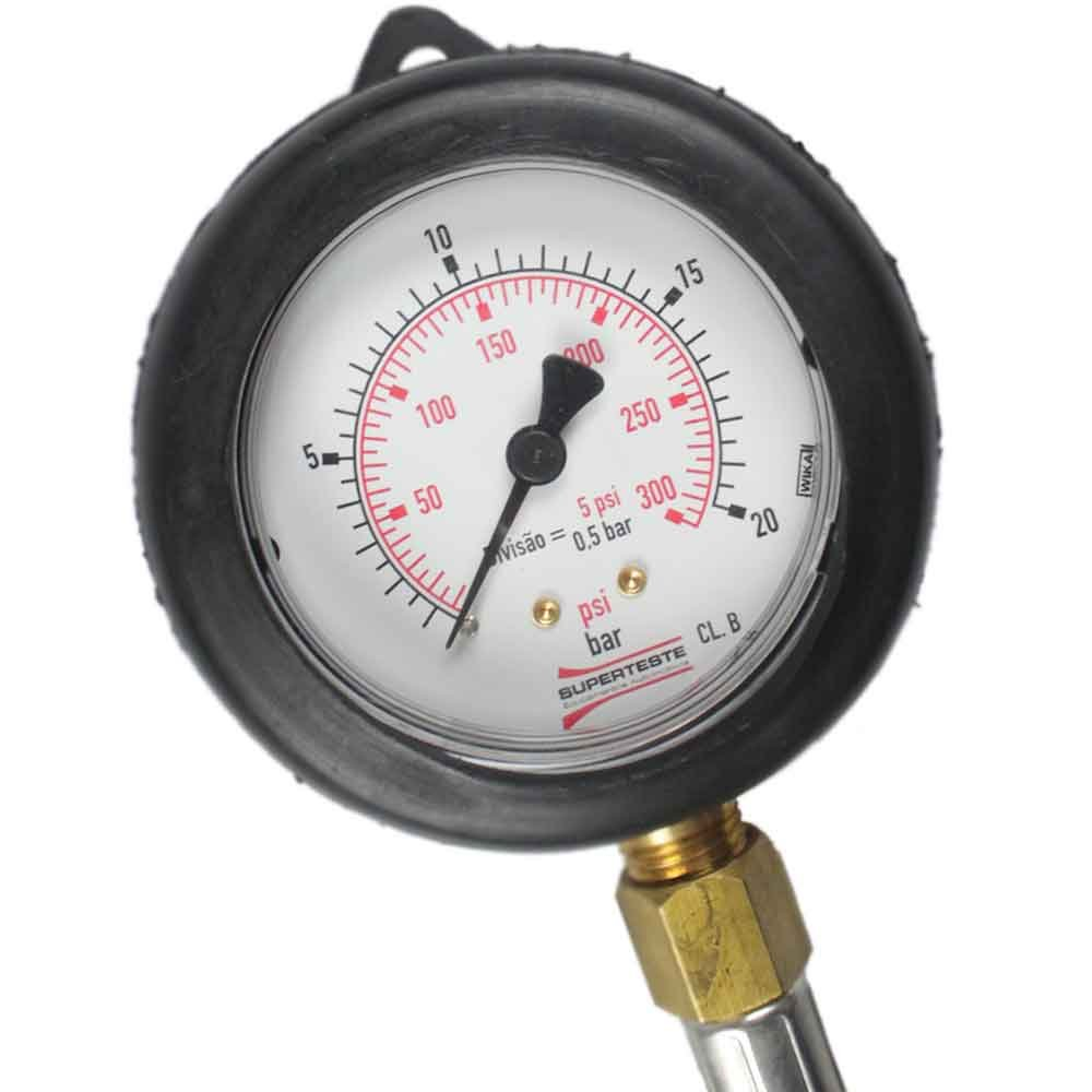 Medidor de Pressão da Bomba de Óleo para Carros e Caminhões Diesel - Imagem zoom