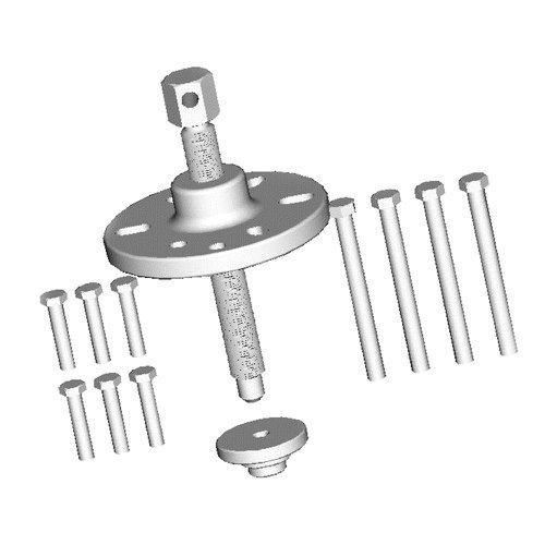 extrator para o anti vibrador de motores mercedes-benz om-314, om-352 e om-355