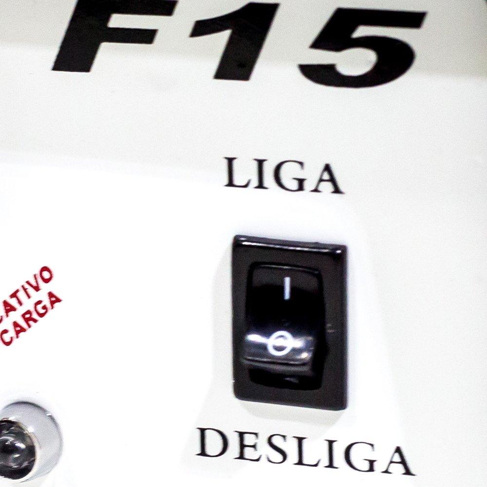 Carregador Inteligente 15A 12V de Bateria com Auxiliar de Partida - Imagem zoom