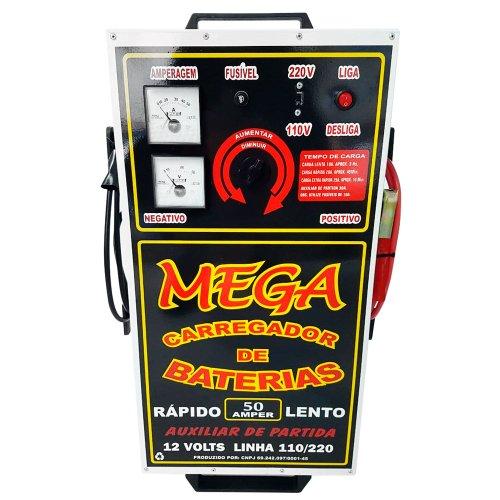 carregador de baterias 12v 50a  bivolt