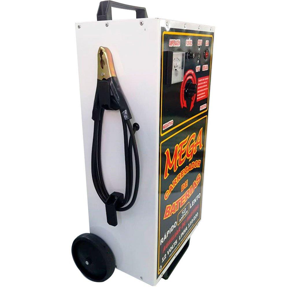 Carregador de Baterias de 50A 110-220V - Imagem zoom