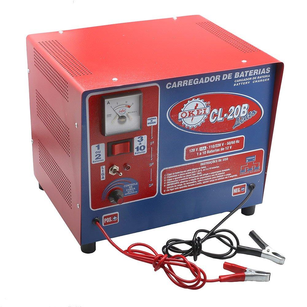 Carregador de Bateria Lento 15A 12V  110/220V - Imagem zoom