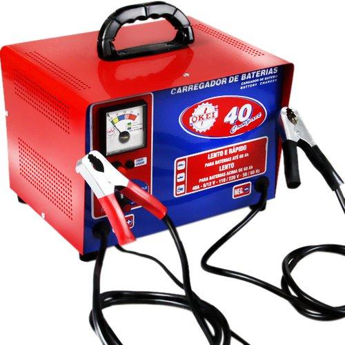 carregador de bateria 40a compact